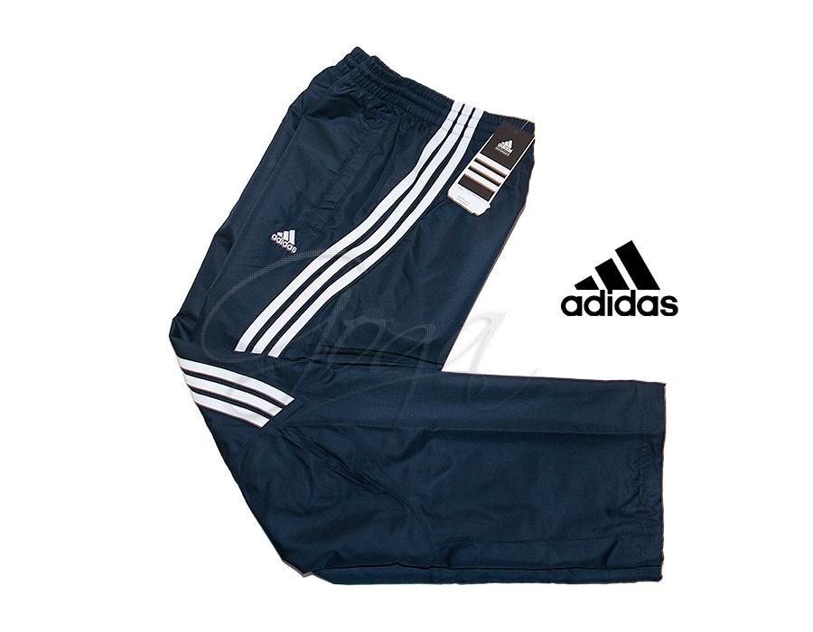 Spodnie dresowe ADIDAS, 3S New Nox, granatowe :: Goga Sport